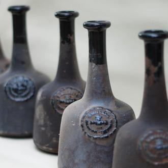 Бутылки винтажные керамические.