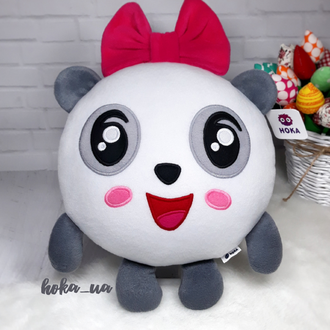 Мягкая игрушка - подушка Малышарики Пандочка, Панда.