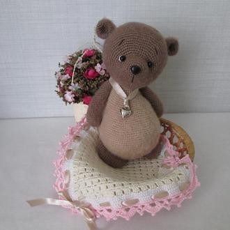 Мишка  Вязаная Игрушка  Подарок