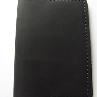 стильна обкладинка на паспорт з вінтажної шкіри crazy horse