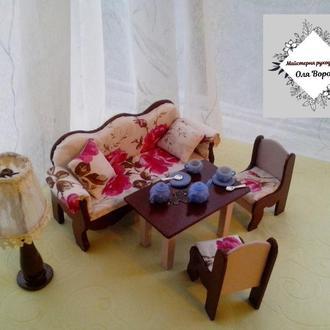 Меблі для ляльки набір