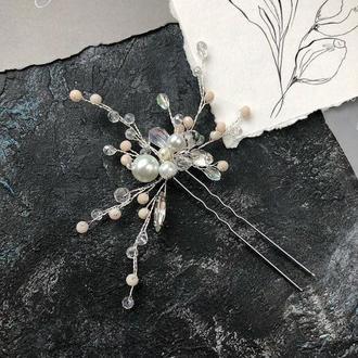 шпилька в волосы шпилька в прическу шпилька для невесты