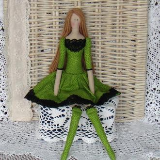 Кукла в стиле Тильда Дэниза  48см ВНИМАНИЕ БОНУС !!!