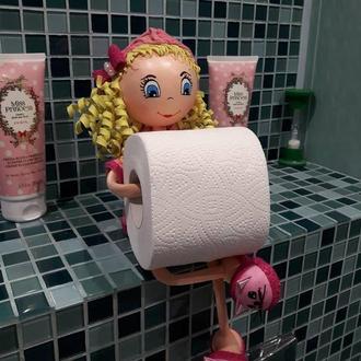 Кукла держатель бумаги