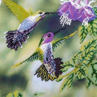 Вышивка бисером Птицы
