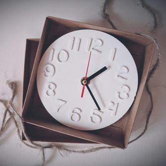 """Часы настенные """"Mini"""", арабские цифры"""