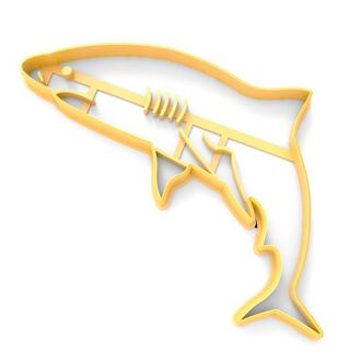 6485 Вырубка для пряников Акула