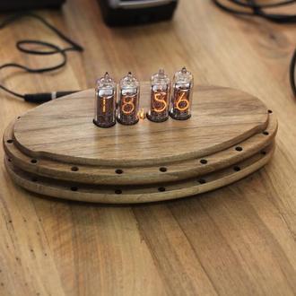 Ламповые ретро часы Nixie clock ин-14
