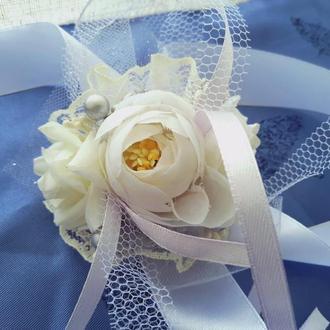 Бутоньерка №3 для невесты