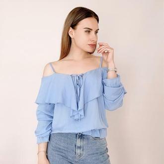 Женская блуза в наличии в различных цветах