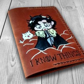 Кожаная обложка для паспорта, Игра престолов, Game of Thrones