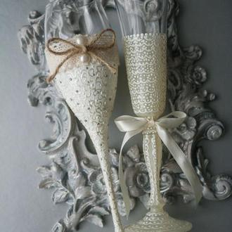 Весільні келихи