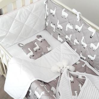 Комлект в дитяче ліжечко