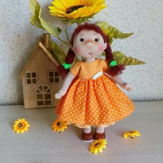 текстильная кукла Ириска.