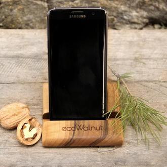 Деревянные Настольные Подставки Органайзеры Для Телефонов Планшетов iPad iPhone На Рабочий Стол