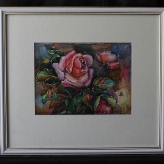 """Картина """"Троянда в саду"""""""