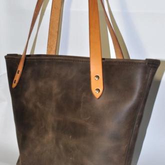 Шоппер. Тоут. Повседневная женская сумка.