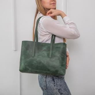 Сумка женская большая DONNA, кожаная сумка, шкіряна жіноча сумка