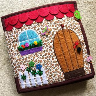 Развивающая книжка, кукольный домик