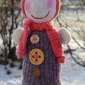 Снеговик ручной работы