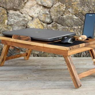 Охлаждающая Подставка Кулер Столик Охлаждения Для Ноутбука Планшета Поднос Для Еды В Кровать