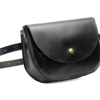 Waist bag Mira black (артикул: wb014.1)