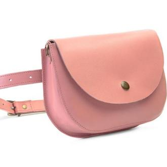 Waist bag Mira powder pink (артикул: wb014.7)