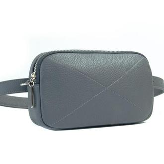 Sandra Waist Bag grey (артикул: wb021.2)