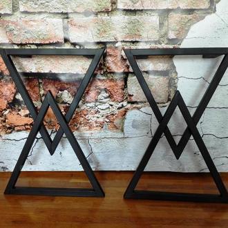 Ножки из металла для стола в стиле лофт индастриал loft