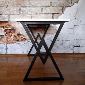 Стол обеденный рабочий loft белый стол