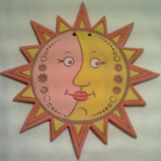 """керамика, оберег керамический """"солнышко"""""""