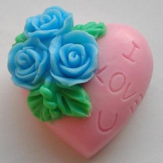 "Мыло ""Сердце I Love You"" 2"