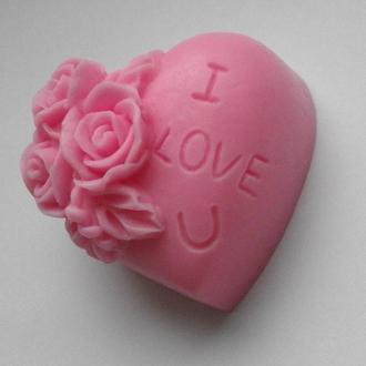 Мыло  ''Сердце I Love You''