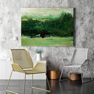 """Картина абстракція """"Боржавські гори. Карпати"""""""""""