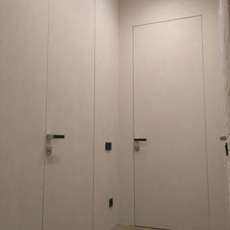 Скрытые двери (двери без наличников)