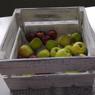 Декоративные ящики для хранения.