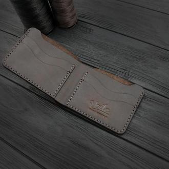 Мужской кожаный бумажник VOILE mw10-brn