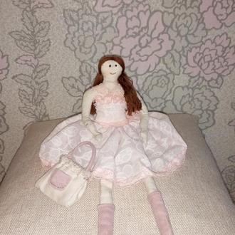 "Текстильная кукла по мотивам Тильда ""Балерина"""