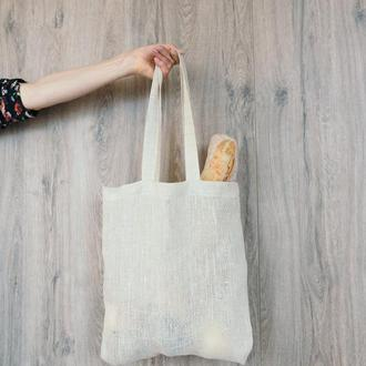 Эко сумка из льна