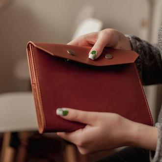 Кожаная обложка на ежедневник, обложка для блокнота из натуральной кожи