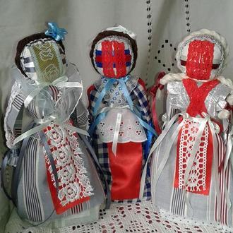 кукла мотанка- украинский сувенир оригинальный подарок  мощный оберег-без использования иглы