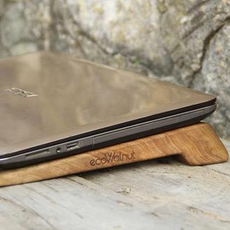 Подставка Для Ноутбука Компьютера Macbook Макбука Из Дерева Для Папы Мамы Мужа Жены Сына Дочки Брата