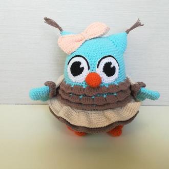 Мягкая игрушка Сова в юбке