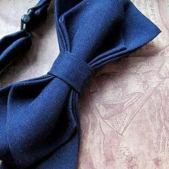 """галстук-бабочка """"бордо"""" и Темно-синий"""