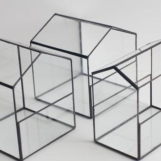 Флорариумы. Изделия из стекла.