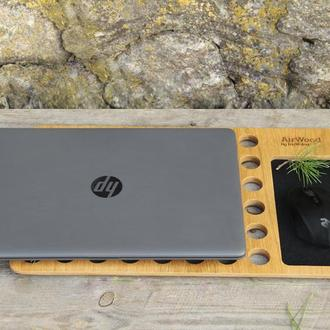 Охлаждающая Подставка Докстанция Столик Органайзер Кулер Док Станция Для Ноутбука Макбука Macbook