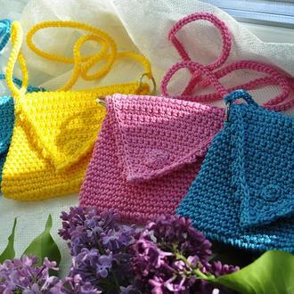 Маленькая яркая мини-сумка, микро-сумка / Маленька яскрава міні-сумка, мікро-сумка