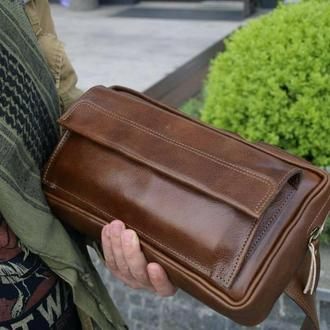 Мужская сумка-бананка L
