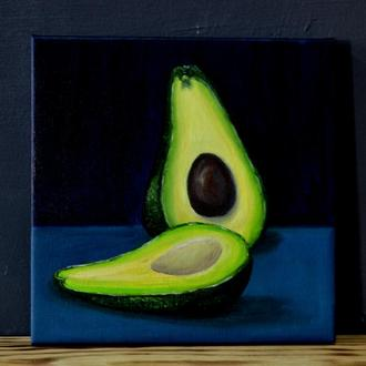 """Картина """"авокадо"""""""