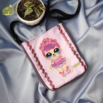 Детская сумочка с куклой Лол// Дитяча сумочка з лялькою Лол